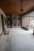 staining concrete and patio tour, concrete masonry, flooring, painting, patio