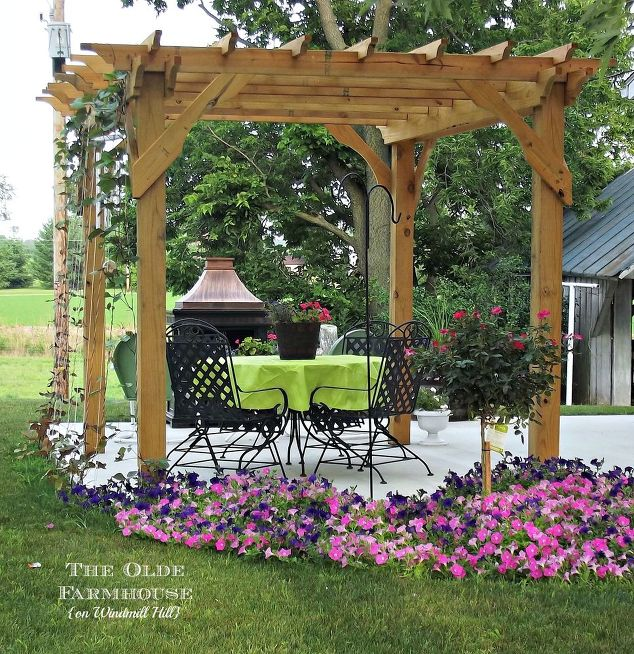 build your own pergola for an outdoor retreat, diy, how to, outdoor living - Build Your Own Pergola For An Outdoor Retreat Hometalk