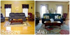 makeover without paint or new furniture home decor living room ideas