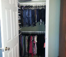 new walk in closet, cleaning tips, closet