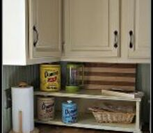 an update on my chalk paint kitchen cabinets, chalk paint, kitchen cabinets, painting, Kitchen Cabinets done in Chalk Paint Old Ochre and French Linen Sealed with Annie Sloan Lacquer