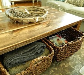 Diy Rustic Coffee Table With Storage In About 3 Or 4 Days, Diy, Painted