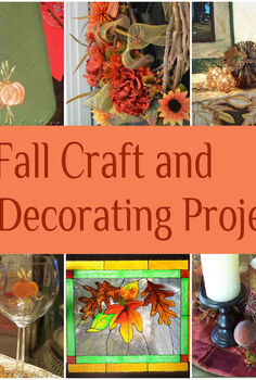 24 fall craft decorating projects, crafts, seasonal holiday decor