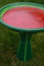 bird bath made from terra cotta pots and saucer, outdoor living, repurposing upcycling