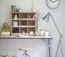 inspiring work spaces, craft rooms