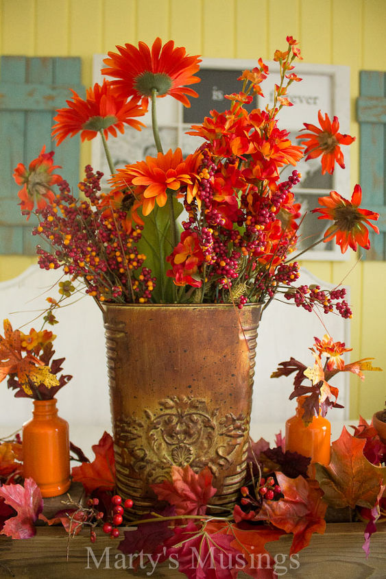 Thrifty Fall Decorating Ideas And Home Tour Hometalk