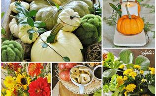 five easy fall centerpiece tips, gardening, seasonal holiday decor