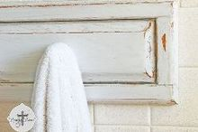 bathroom towel rack from reclaimed cabinet doors, bathroom ideas, repurposing upcycling, Found these solid oak cabinet doors curbside