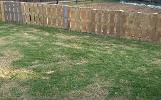 pallet fence, diy, fences, pallet, repurposing upcycling, My pallet fence around my garden