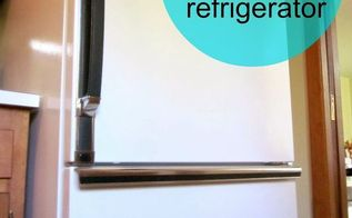 how to paint a refrigerator, appliances, painting