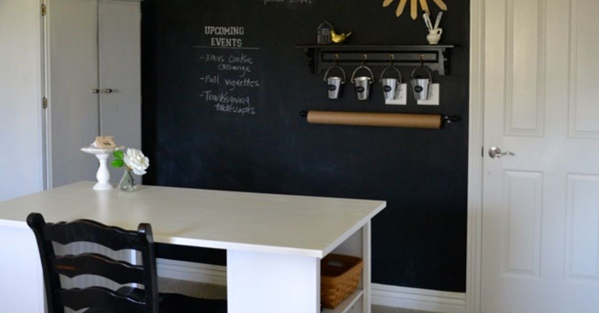wall pictures for office. howto make a chalkboard wall in your home officecraft room hometalk pictures for office