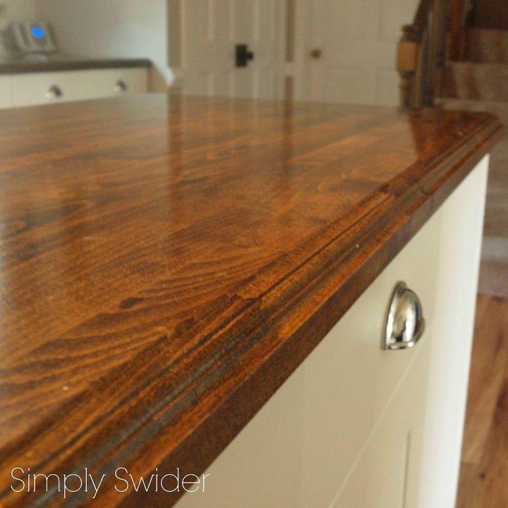 Creating Custom High End Butcher Block Counter Tops for Cheap – Cheap Kitchen Countertops