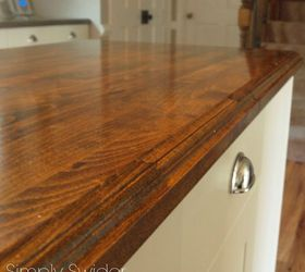 creating custom high end butcher block counter tops for cheap countertops diy how