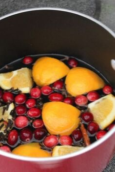 create homemade air freshener with stove top potpourri, cleaning tips, Cranberries cinnamon lemon and other holiday spices and natural ingredients make this a welcome way to add winter fragrances to your home Great for families with allergies or who are concerned with synthetic chemicals