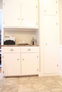transform your broom closet into a pantry, closet, I have a large broom closet in the corner of my kitchen After taking some measurements I was able to add shelving to hold all m pantry supplies