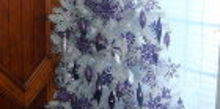 a purple christmas, christmas decorations, seasonal holiday decor, Get out of that holiday rut of reds and greens and add festive features of colors you love