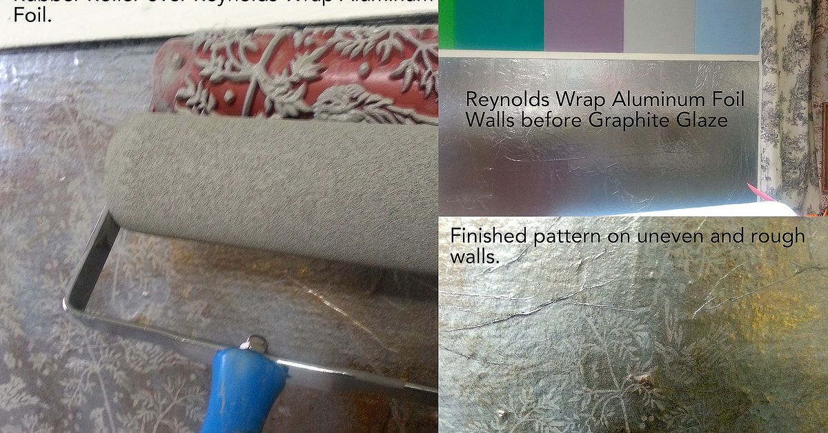 Covering Walls With Aluminum Wrap Or Tin Foil Hometalk