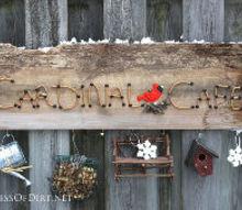 easy way to make a seasonal garden sign, crafts, gardening, seasonal holiday decor, Make a creative garden sign to brighten up the garden