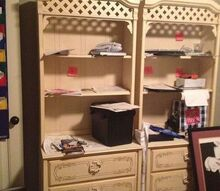 q ideas for repurposing 70 s girls childhood bedroom set, bedroom ideas, painted furniture, repurposing upcycling