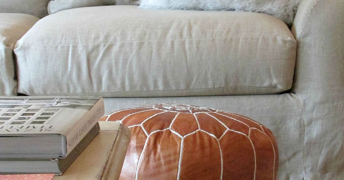 Tutorial For A Linen Slipcovered Couch Hometalk