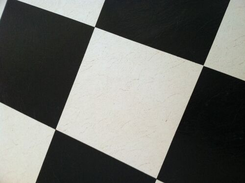How To Clean And Brighten White 20 Inch Vinyl Tiles On