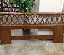 what to do with this headboard, painted furniture, repurposing upcycling