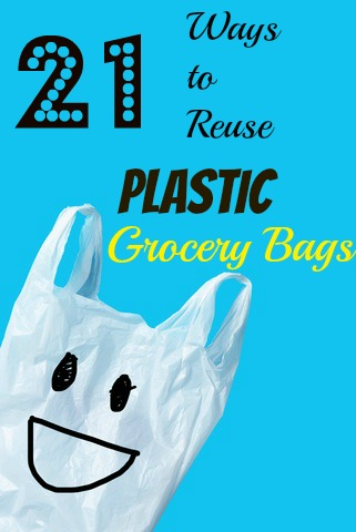 21 Ways to Reuse Plastic Grocery Bags (Insulate Window Gaps and ...