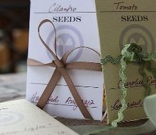 printable seed packet templates to give or keep, gardening, Printable Seed Packet Templates