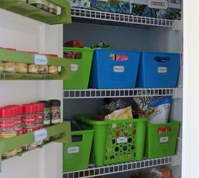 Dollar Store Pantry Organization, Closet, Organizing, Storage Ideas, Pantry  Organization Rocks