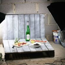 diy mini home photo studio made from pallets, pallet, repurposing upcycling