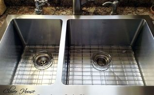 make your stainless steel sink shine my natural secret ingredient, cleaning tips, kitchen design, A really shiny sink makes me SMILE