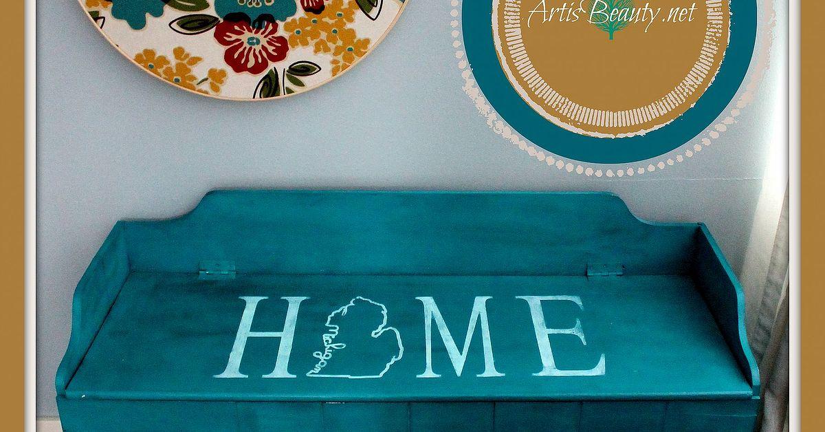 Rescued Home Mud Room Bench Makeover Hometalk