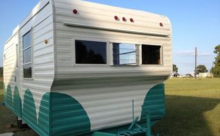 vintage 1960 s camper redo, home decor, home improvement, repurposing upcycling, After
