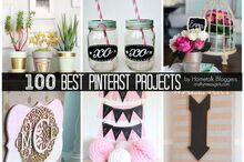 100 best pinterest projects by hometalk bloggers, crafts