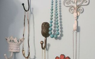 decorative wall hooks as jewelry storage and functional art cleaning tips home decor - Stylish Wall Hooks