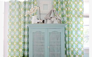 how to paint with annie sloan chalk paint a tutorial, chalk paint, painted furniture, Hutch After