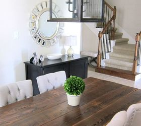 Marvelous Our Dining Room Table We Made From Reclaimed Wood, Dining Room Ideas, Diy,