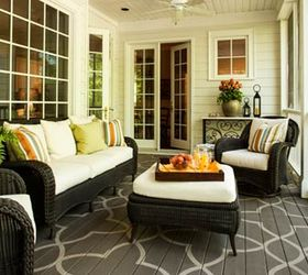 How To Paint A Design On Your Porch Floor, Flooring, Painting, Porches,