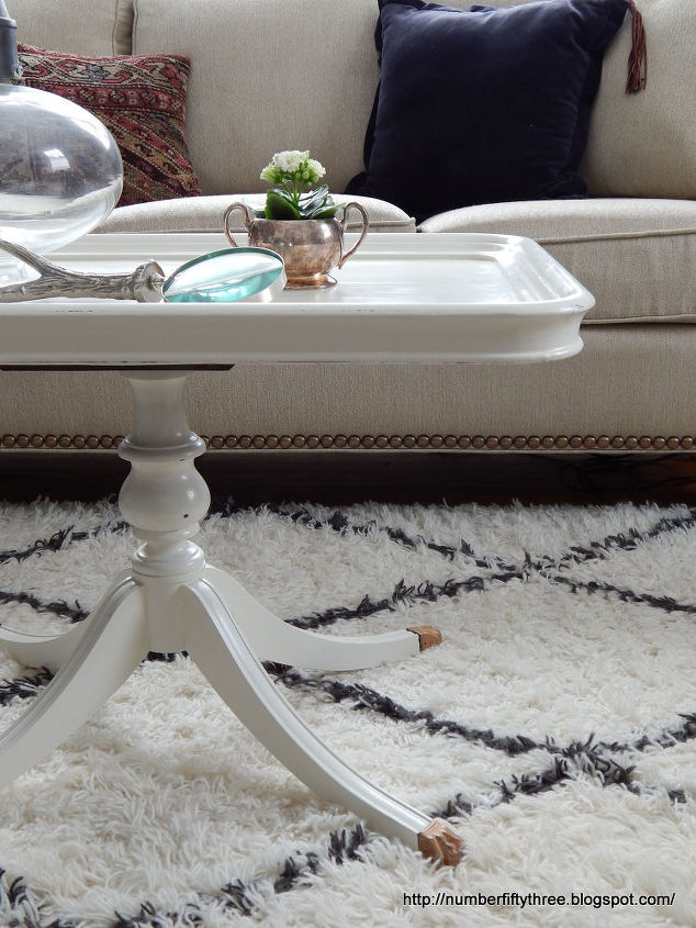 Antique White Coffee Table Hometalk