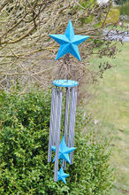 make your own wind chimes, crafts, mason jars, outdoor living, This wind chime is a great addition to our garden or would be a great gift