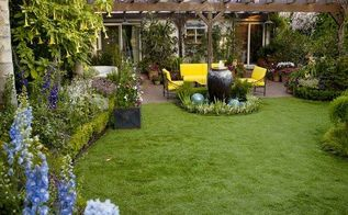 ways to spruce up your backyard, gardening, landscape, outdoor furniture, outdoor living