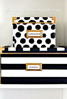 kate spade inspired ikea storage boxes, cleaning tips, repurposing upcycling, storage ideas
