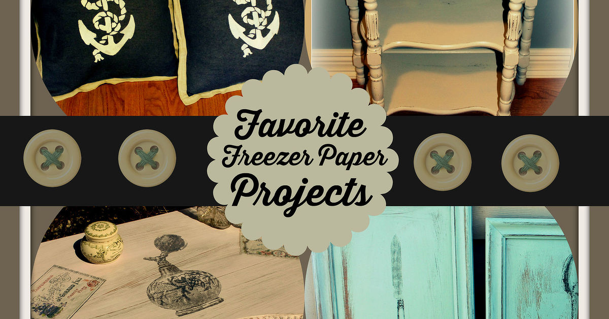 Freezer Paper Its Not Just For Food Anymore Get Crafty