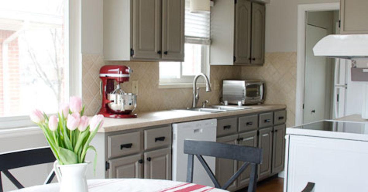 Kitchen update on a budget hometalk for Kitchen upgrade ideas on a budget