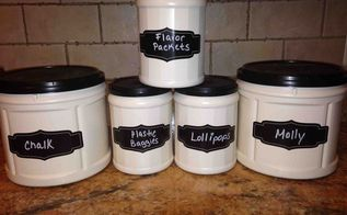 spray painted folders containers copied idea from here love it, chalkboard paint, crafts, repurposing upcycling