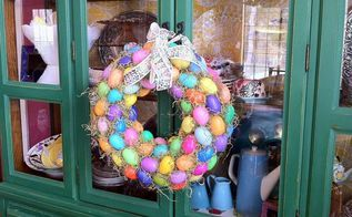 how to upcycle your kids plastic easter eggs, crafts, easter decorations, repurposing upcycling, seasonal holiday decor