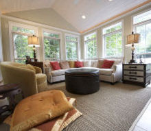 sunroom addition, home decor, home improvement, living room ideas, outdoor living