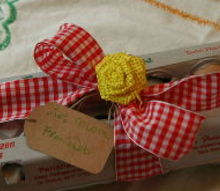 gifts from the coop just in time for easter, crafts, Farm Fresh Eggs Gift Idea