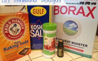 diy dishwasher detergent, cleaning tips, go green