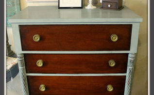 antique kindel dresser makeover and a welcome back, painted furniture